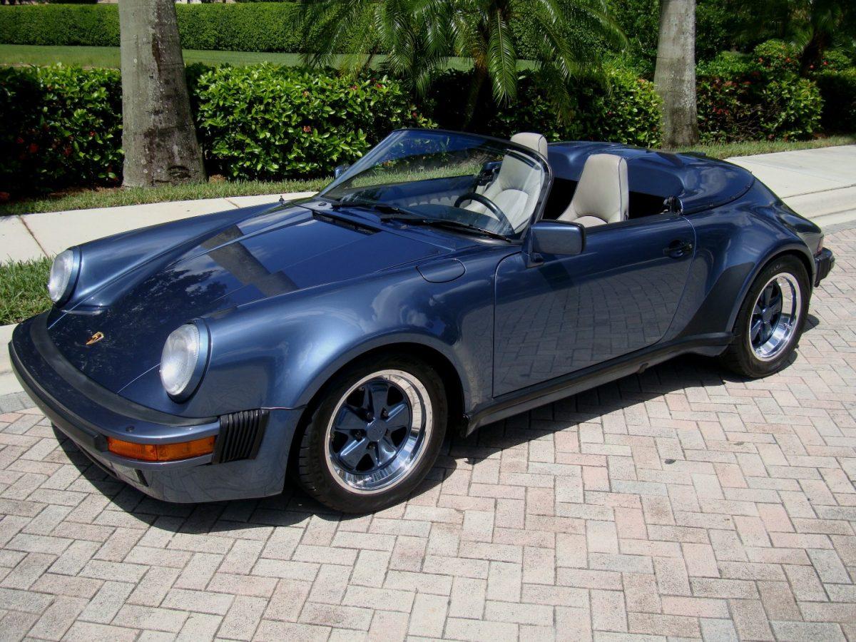 1989 Porsche 911 Speedster Quot Special Order Quot The Guitar Broker