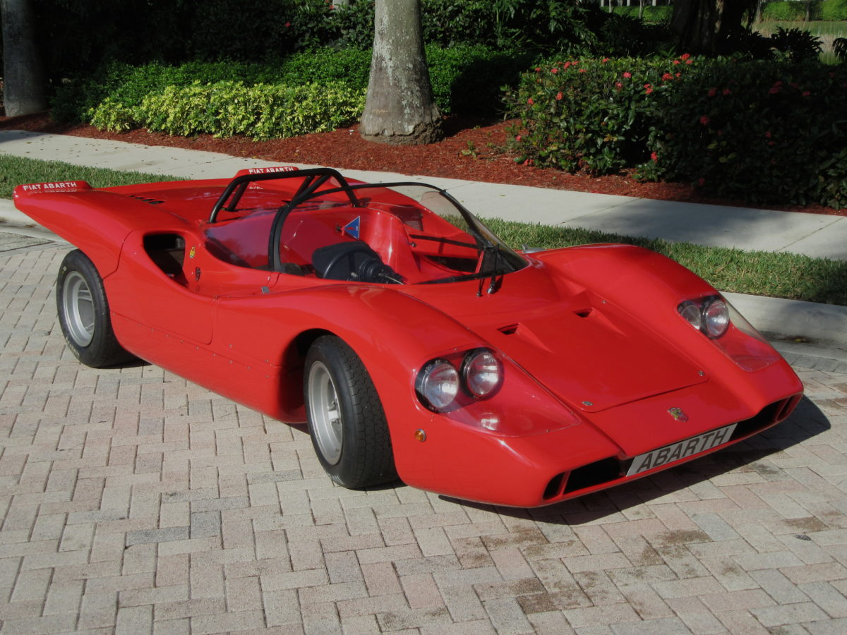 1969 Abarth 2000SP Sport Spider