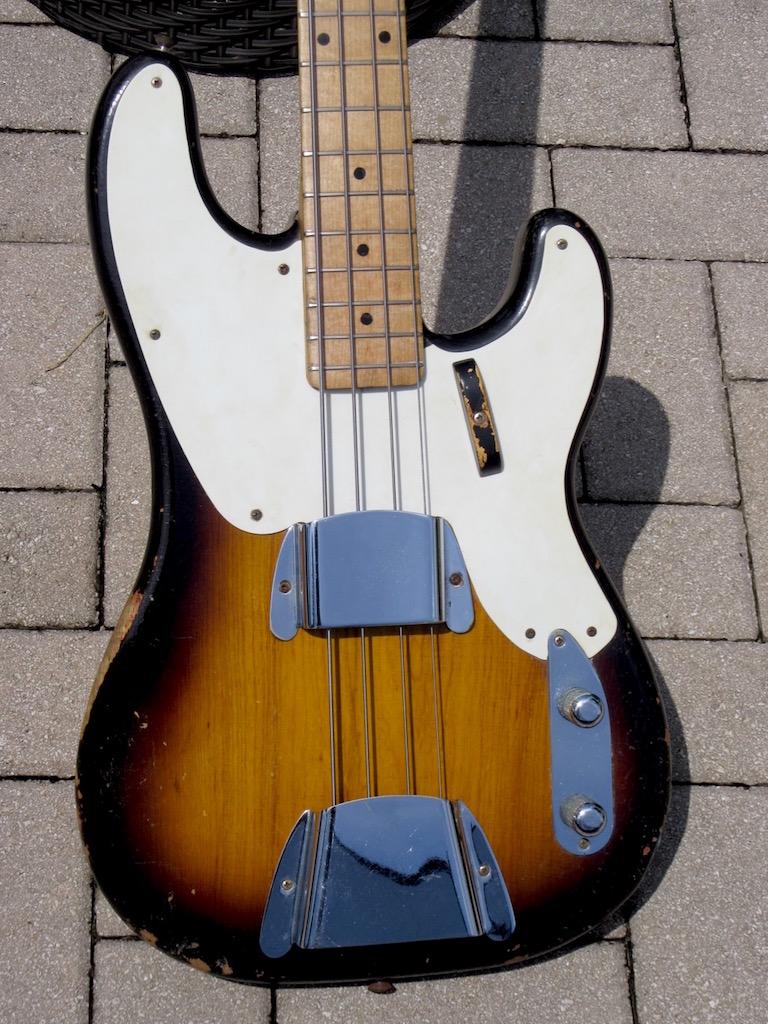 1955 Fender Precision Bass The Guitar Broker