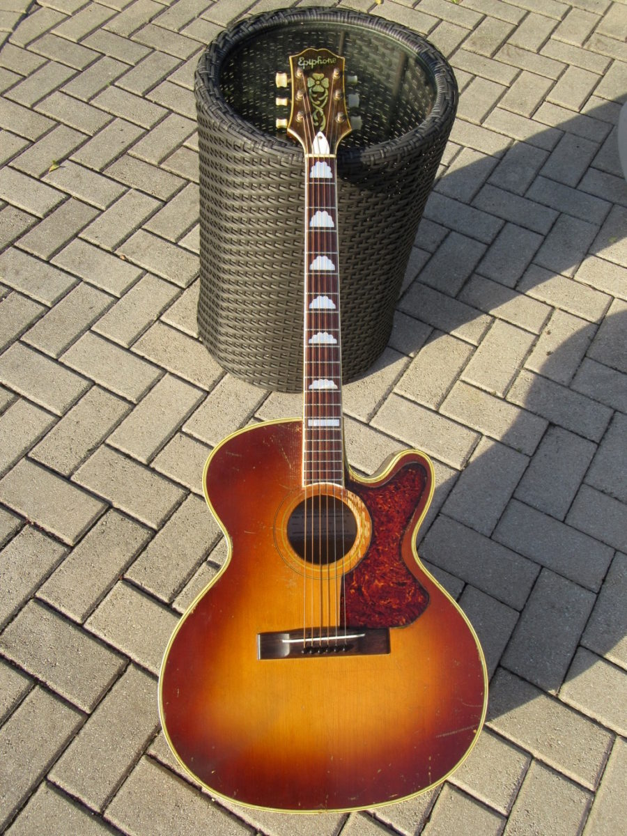 1955 Epiphone F T  Deluxe Cutaway