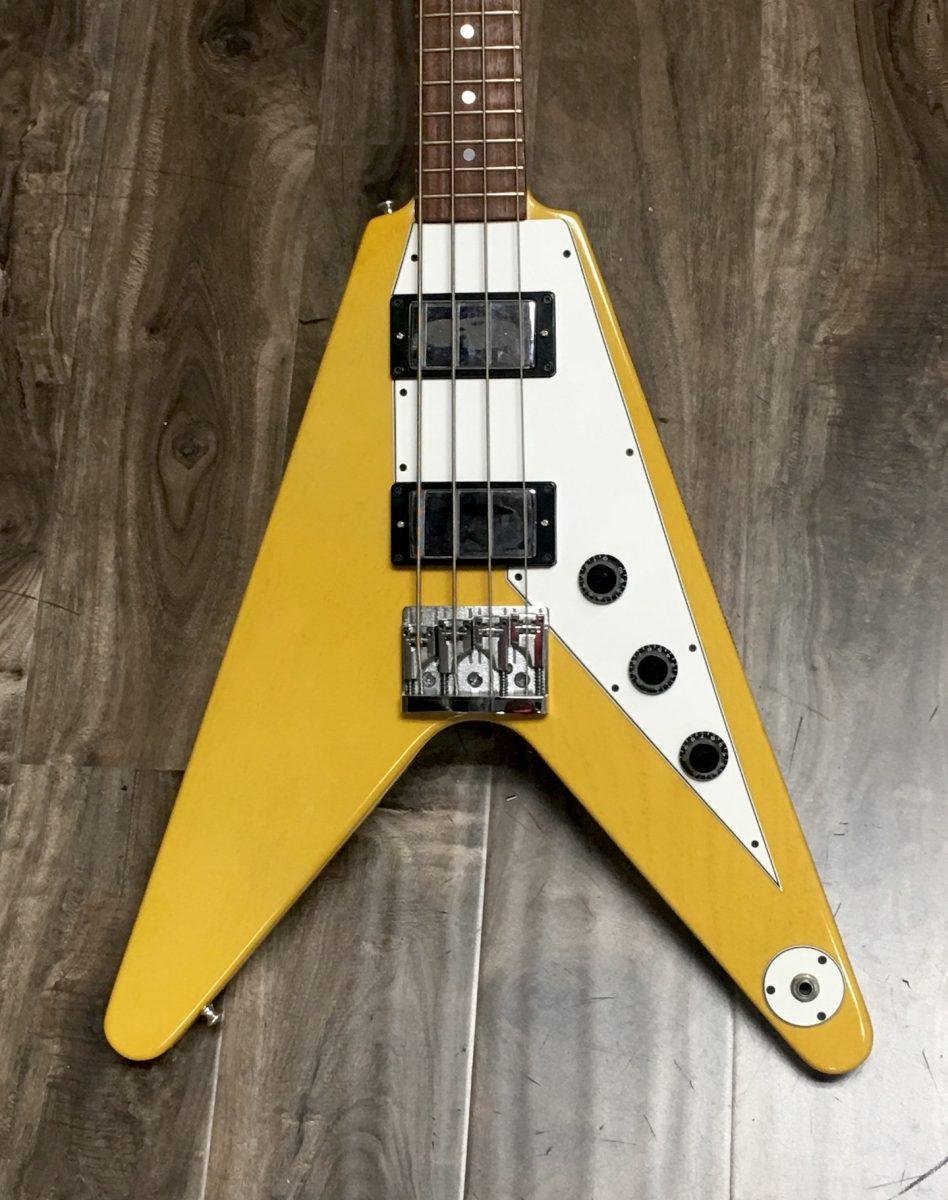 1999 gibson flying v 39 58 reissue bass the guitar broker. Black Bedroom Furniture Sets. Home Design Ideas